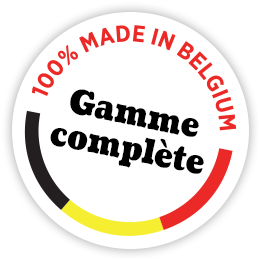 100% made in Belgium - 5 ans de garantie